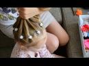 Прическа Хвостик из хвостиков