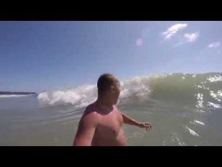 Большие волны на черном море