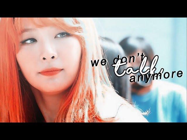 Seulrene ft. wendy / we don't talk anymore 💘