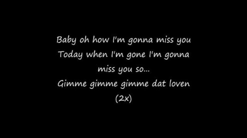 Dr Alban Gimme Dat Lovin 1994 with lyrics