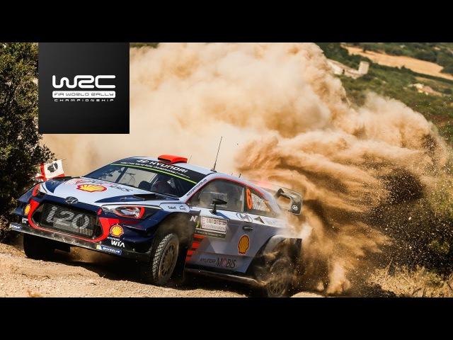 WRC 2017 07 Rally Italia Sardegna shakedown