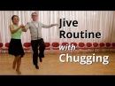 Jive Routine with Chugging | Latin Dance Figures