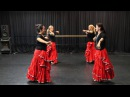 Cinnabar Red Dance Collective ATS® CRDC dialect Formations and Combos