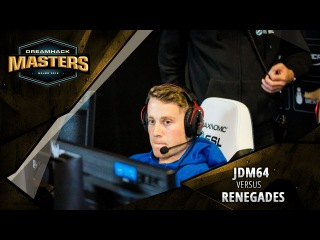 DreamHack Masters Las Vegas 2017 North America Closed Qualifier: jdm64 vs. Renegades