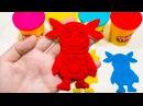 ЛУНТИК из Пластилина ПЛЕЙ ДО. Учим Цвета. Развивающее видео для детей. Мультики.