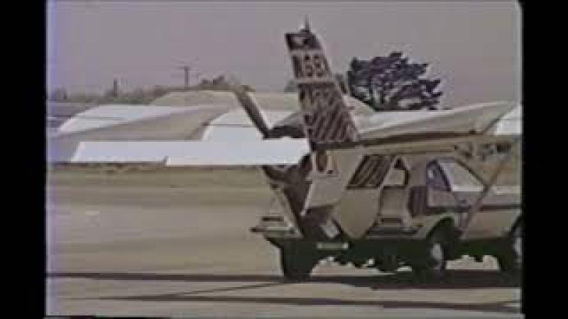 33 MIZAR The flying Pinto (fliegendes Auto)
