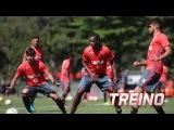 Flamengo segue preparação para encarar o Atlético PR (07/12)