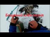 Зимняя рыбалка. Бешеный клёв окуня на чёртик в снегопад.