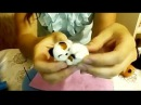 Сухое валяние ✿ Игрушка из шерсти котенок ✿ МК Анастасия Беденко
