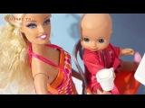 Мультики для детей куклы Мама Барби Люси: Торт Ёжик - Развивающие мультфильмы Барби про ёжика детям