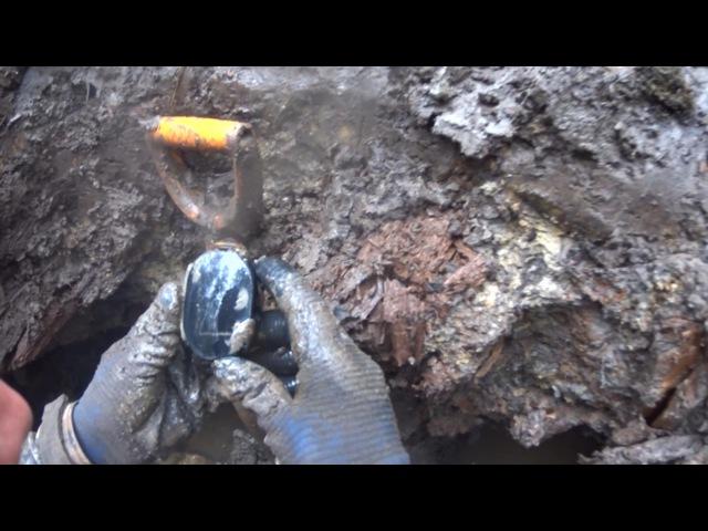 ML3 Раскопки немецкого блиндажа WW2 Dugout excavations HD SUB