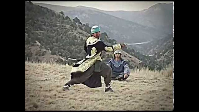 Работа с оружием в суфийских боевых искусствах Zo'rmergan
