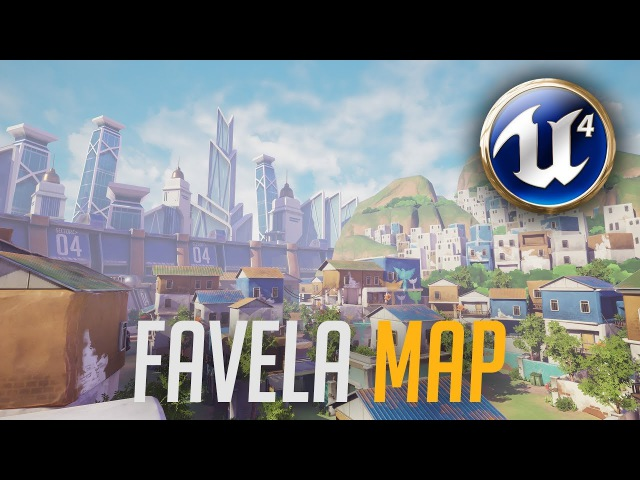 Favela Map - Unreal Engine 4 | Overwatch Inspired