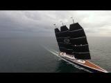 Y 712 on sailing sea trials