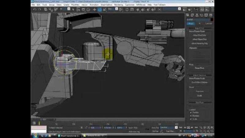 Tutorial Transformer animaçao 3d em portugues (BR) - parte 1