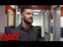 • Эксклюзив Закулисное интервью Балора перед матчем с Сэмсоном.