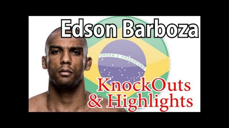 Edson Barboza Highlights KO UFC mma