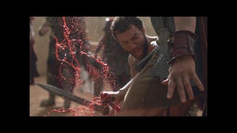 Спартак:Месть Я был худшим в нашем братстве (Ашур выносит людей Глабра)