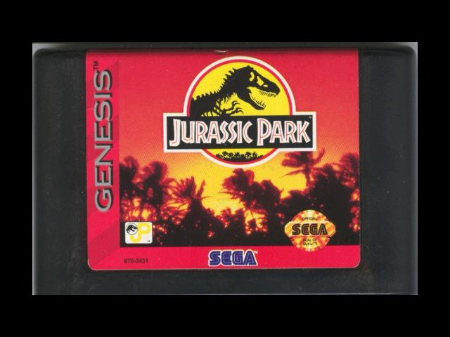 [NostalgiA] [SEGA Genesis \ MegaDrive] Jurassic Park - Soundtrack OST