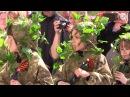 Пятилетних детей вывели на военный парад