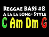 Reggae Backing Track for Bass #8 A la la Long Style