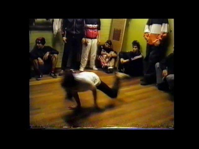 Breaking Cypher/Battle Footage @ the Legendary Uppsala jam Sweden 1992