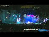 Eco Fashion Show Tini y Peter cantan 'Un Mundo Ideal' OnDIRECTV