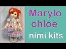 Mini kit muñeca Marylo Chloe , manualilolis, video- 288