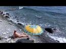 🔴🔴 НУДИСТСКИЙ пляж в Лазурном Крым 2017 Нашествие мопедобайкеров Пешком 5 км ОБЫЧНЫЕ ПЛЯЖИ В КРЫМУ