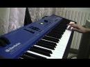 Rammstein - Mein Herz Brennt Live version some sounds on keyboard Oberheim MC 1000
