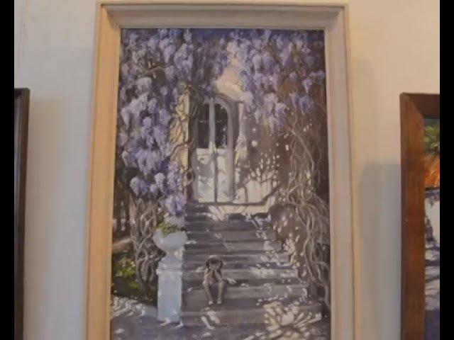 Гриновский музей презентует выставку работ крымской художницы Елены Юшиной
