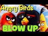Фразовый глагол to BLOW UP из мультфильма Angry Birds
