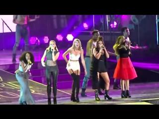Little Mix ft Taylor Swift - Black Magic «1989 World Tour» (2015)