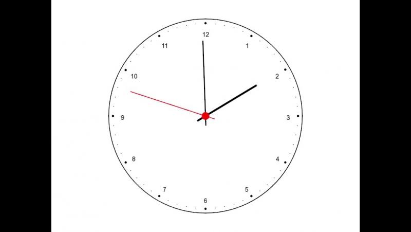 SFML Analog Clock