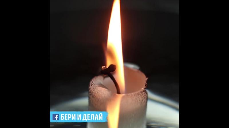 5 супертрюков со свечами, которые стоит показать близким и друзьям.