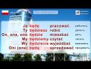 Будущее время в польском языке. Урок 7-7. Польский язык для начинающих. Елена Шипилова.