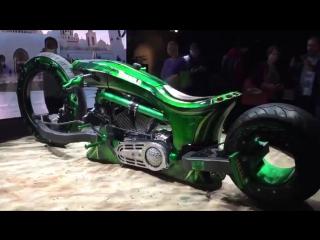 Произведение искусства от Harley Davidson