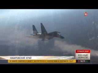 Высший пилотаж пилотов ВКС РФ на Су-35С и Су-30