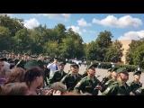 Присяга 12.08.2017 Торжественный марш
