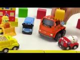 Мультики про машинки Автобус Тайо! Рабочие машины. Игрушки из мультфильма