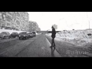Пешеход-клоун