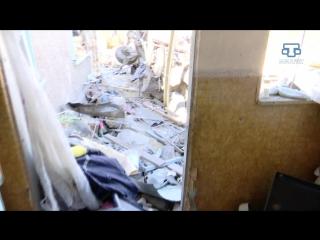 В районе аэропорта Симферополя сегодня ночью в одном из частных домов прогремел взрыв.