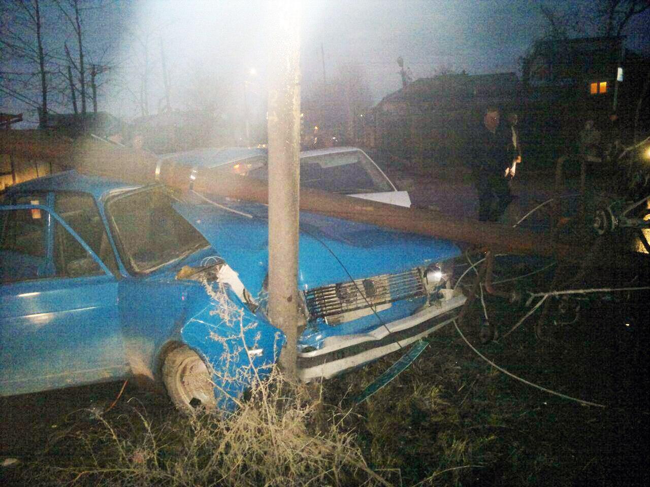 Из-за вчерашнего ДТП на Ломакина несколько десятков домов в центре города остались без света