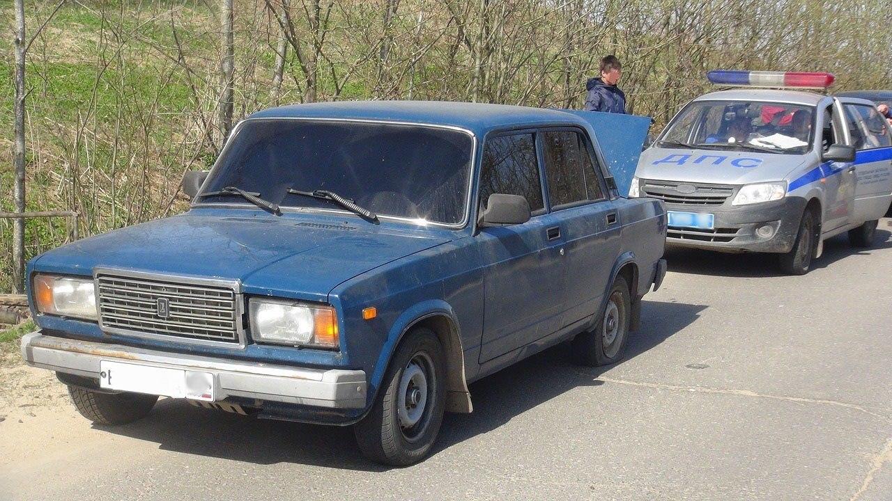 В Таганроге ИДПС задержали молодого водителя «ВАЗ-21074», повторно севшего за руль пьяным