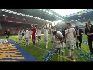 Кубок Дании вручили слепому фанату
