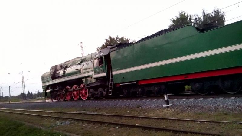 Паровоз П36-0120 в Коломне