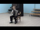 Ильяс в музыкальной.