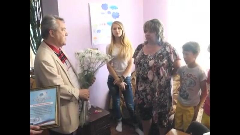 посещение домов семейного типа в Луганске ЛНР