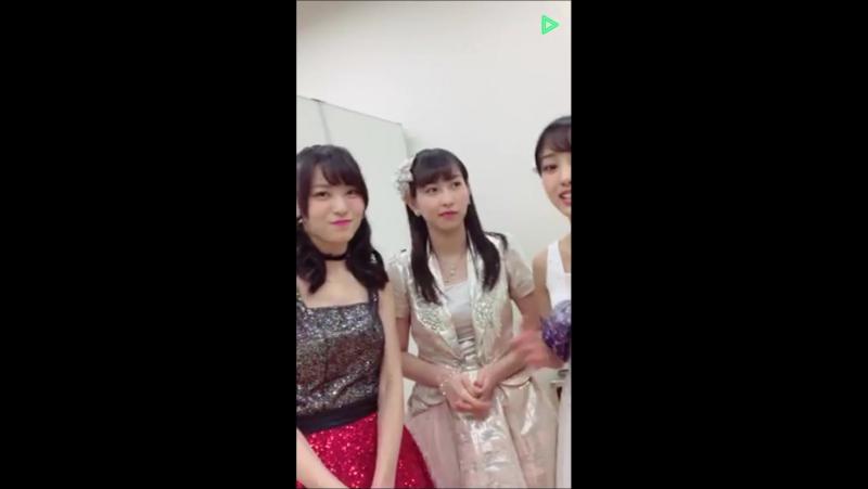 [LL] Line Live - Uemura Akari (JJ), Iikubo (MM), Yajima (C-ute), Kasahara (Ang), Yanagawa (CG), Inoue (KF) Ono (TF)