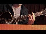 Песня под гитару-Баста-Выпускной (Медлячок) (cover)